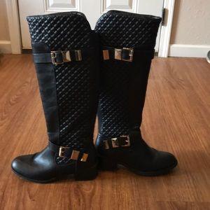Cato Size 9 Black Boots
